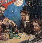 Symposium 1894 By Akseli Gallen Kallela