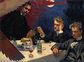 Symposium c1894 By Akseli Gallen Kallela