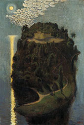 The Island of The Blessed By Akseli Gallen Kallela