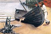 The Lamenting Boat By Akseli Gallen Kallela