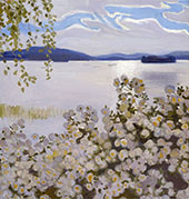 White Roses 1906 By Akseli Gallen Kallela