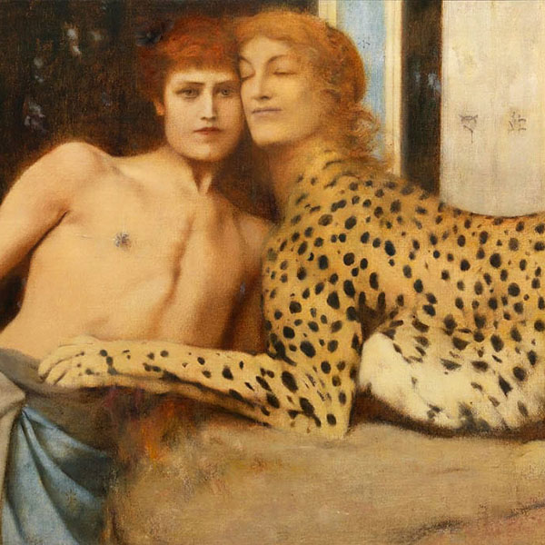 Oil Painting Reproductions of Fernand Khnopff