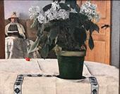 Hortensia By Fernand Khnopff