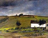 In Fosset Rain By Fernand Khnopff