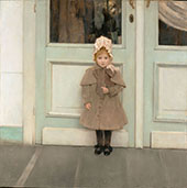 Portrait of Jeanne Kefer By Fernand Khnopff