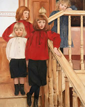 The Children of Monsieur Neve By Fernand Khnopff