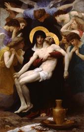 Pieta 1876 By William-Adolphe Bouguereau
