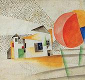 Dissolving Houses 1920 By Bela Kadar