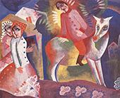 Longing 1925 By Bela Kadar
