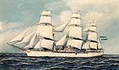 A Ships Portrait 1903 By Antonio Jacobsen