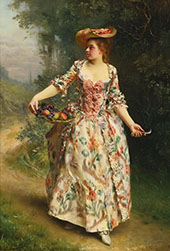 A Walk in The Park By Gustav Jacquet