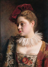The Red Tocque By Gustav Jacquet