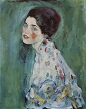 Portrait of a Lady c1916 By Gustav Klimt
