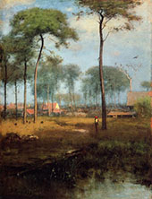 Early Morning Tarpon Springs 1892 By George Inness