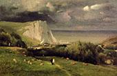 Etretat 1875 By George Inness