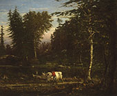 In The Adirondacks c1862 By George Inness