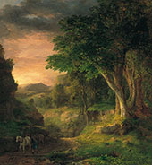 In The Berkshires By George Inness