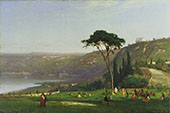 Lake Albano 1869 By George Inness