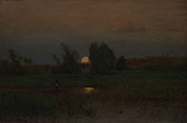 Moonrise 1887 By George Inness