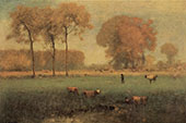 Summer Landscape 1894 By George Inness