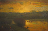 Sunset on The Passaic 1891 By George Inness
