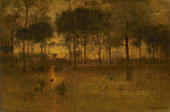 The Home of The Heron 1893 By George Inness