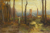 The Mill Stream Montclair New Jersey c1888 By George Inness