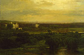 The Valley of The Olives 1867 By George Inness
