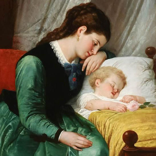 Oil Painting Reproductions of Charles West Cope