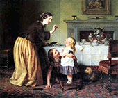 Breakfast Times Morning Games By Charles West Cope