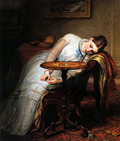 Deferred and Hopes and Fears That Kindle Hope By Charles West Cope