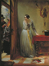 Palpitation 1844 By Charles West Cope