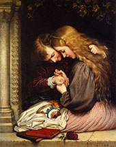 The Thorn 1866 By Charles West Cope