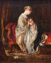 The Young Mother 1845 By Charles West Cope