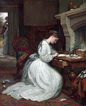 Yes or No 1881 By Charles West Cope