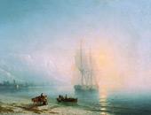 Calm Sea 1863 By Ivan Aivazovsky