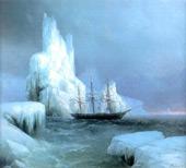 Icebergs 1850 By Ivan Aivazovsky
