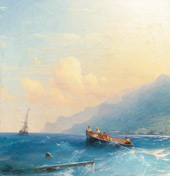 Searching for Survivors 1863 By Ivan Aivazovsky