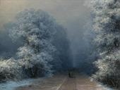 Winter Landscape By Ivan Aivazovsky