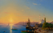 A View of the Bosphorus from the Nile By Ivan Aivazovsky