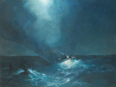 The Birth of Aphrodite 1887 By Ivan Aivazovsky