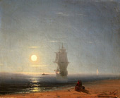 View of Vico Near Naples By Ivan Aivazovsky