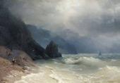 Oceanside 1886 By Ivan Aivazovsky