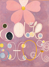 The Ten Largest No 5 Adulthood By Hilma AF Klint