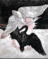 The Swan No 2 By Hilma AF Klint