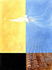 The Dove No 04, Group IX By Hilma AF Klint