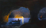 The Azure Grotto, Naples, 1941 By Ivan Aivazovsky