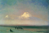 Valley of Mount Ararat 1882 By Ivan Aivazovsky