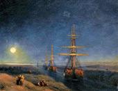 Suez Canal 1876 By Ivan Aivazovsky