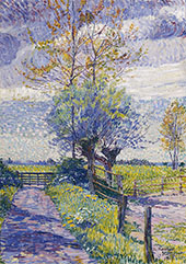 Country Lane in Spring 1918 By Jo Koster